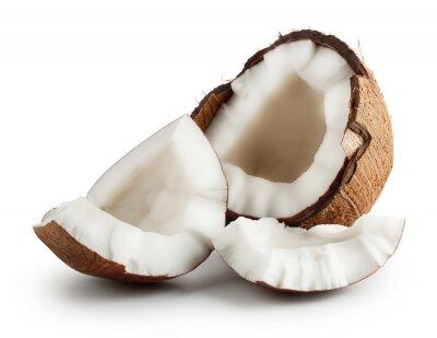 Adesivo Rotto crudo di cocco maturo