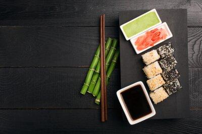 Adesivo Rullo di sushi con pesce