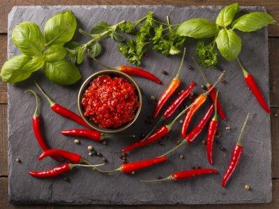 Adesivo salsa chili