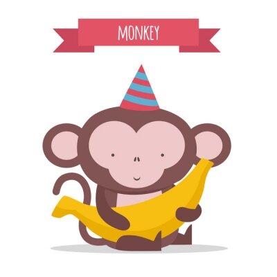 Adesivo Scimmia