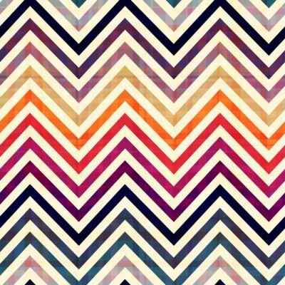 Adesivo seamless pattern chevron