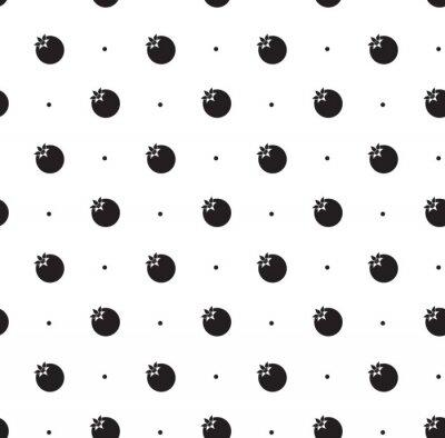 Adesivo Seamless pattern con melograno
