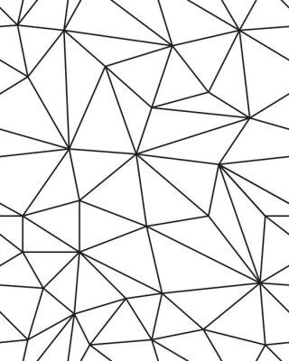 Adesivo Seamless pattern di Struttura geometrica della maglia