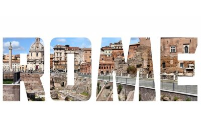 Adesivo segno Roma