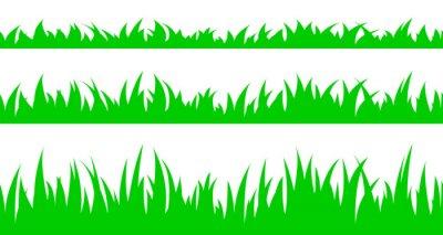 Adesivo Set di senza soluzione di continuità l'erba.