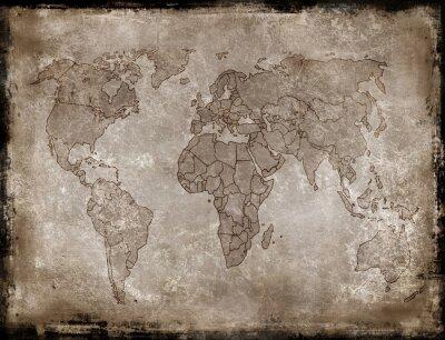 Adesivo sfondi-vecchia mappa