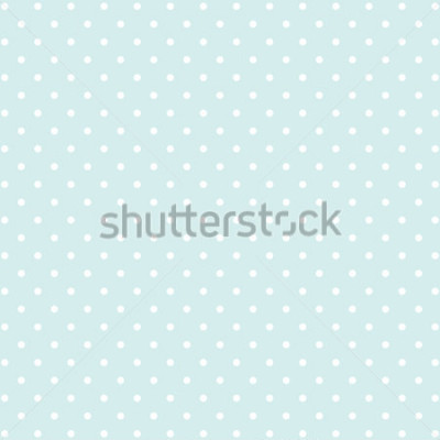 Adesivo sfondo blu polka dot v2