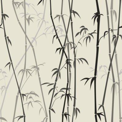 Adesivo sfondo di bambù