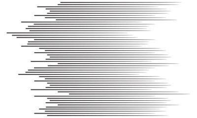 Adesivo Sfondo di linee di velocità