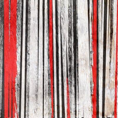 Adesivo sfondo disegno astratto su struttura di legno del grano