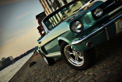 Adesivo Shelby Replica della Mustang 350 nel sole di regolazione