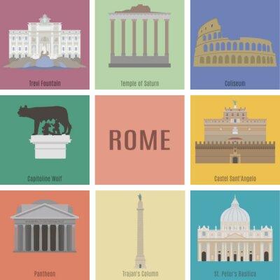 Adesivo Simbolo di Roma
