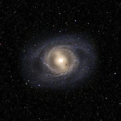 Adesivo Sistema View Galaxy elementi di questa immagine fornita dalla NASA isolato