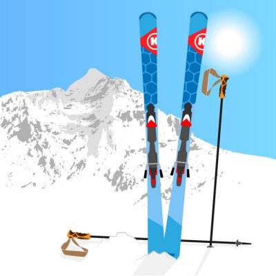 Adesivo Ski und Snowboard Resto 01
