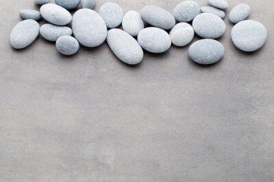Adesivo Spa pietre scena trattamento, zen come concetti.