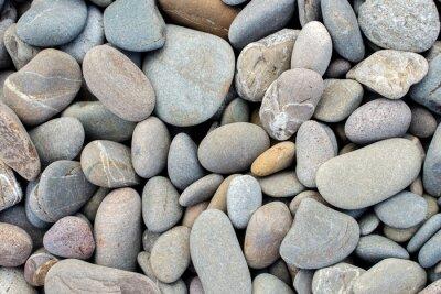 Adesivo spiaggia pietre sfondo