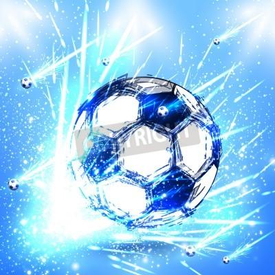 Adesivo stage di calcio luce