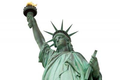 Adesivo statua della Libertà