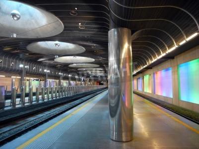 Adesivo Stazione ferroviaria di Nuova - architettura Auckland