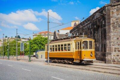 Adesivo Storico Tram, Porto