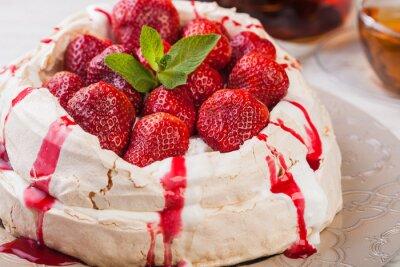Adesivo Strawberry cake Pavlova