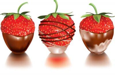 Adesivo Strawberry in liquido