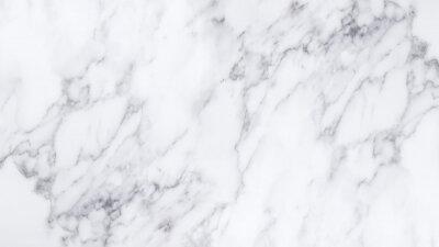 Adesivo Struttura e sfondo di marmo bianco.