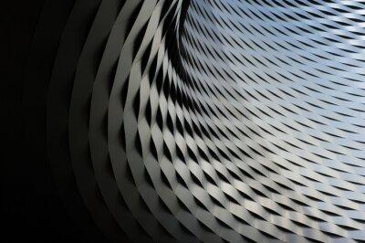 Adesivo struttura metallica astratto con pattern di sfondo ripetitivo