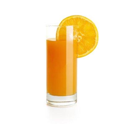 Adesivo Succo di arancia con la fetta