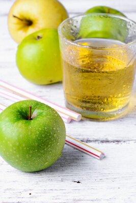 Adesivo succo di mela verde