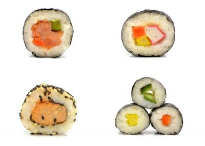 Adesivo Sushi