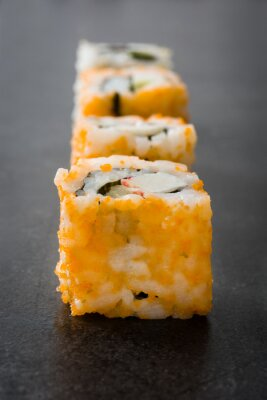 Adesivo Sushi. cibo giapponese