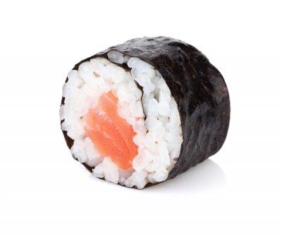 Adesivo Sushi maki con salmone