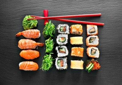 Adesivo Sushi set e bacchette