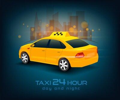 Adesivo taxi auto