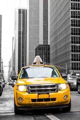 Adesivo taxi giallo di New York