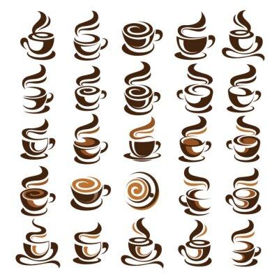 Adesivo Tazza di caffè vettore