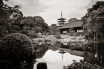 Adesivo Tempio di Sensoji