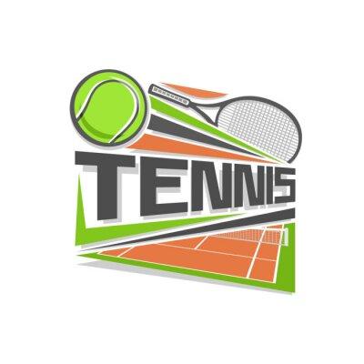 Adesivo Tennis logo