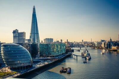 Adesivo Thames and London City