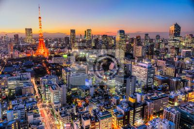 Adesivo Tokyo, in Giappone.