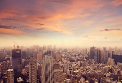 Adesivo Tokyo Skyline