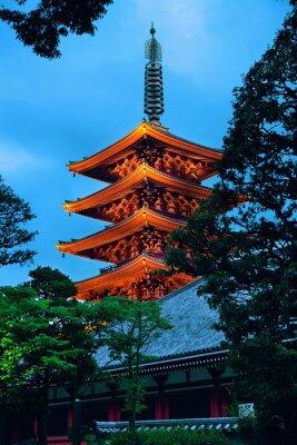 Adesivo Tokyo tempio