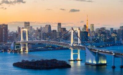 Adesivo Torre di Tokyo Rainbow Bridge