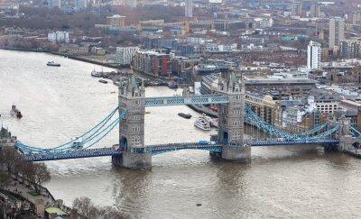 Adesivo Tower Bridge sul fiume Tamigi a Londra