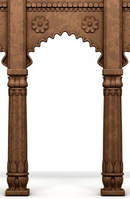 Adesivo Tradizionale Colonna indiano Arc