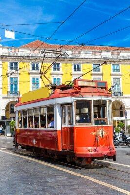Adesivo Tram di Lisbona