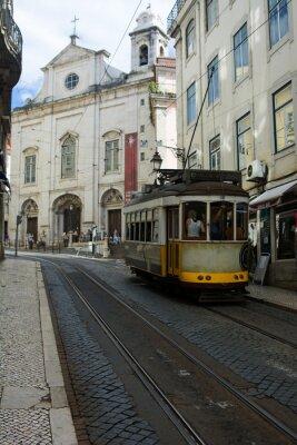 Adesivo Tram - Lisbona