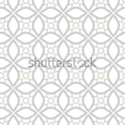 Adesivo Trama di sfondo astratto in stile ornamentale geometrico. Design senza soluzione di continuità.