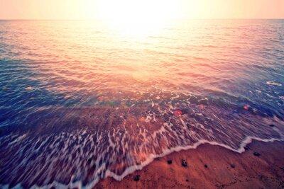 Adesivo Tramonto sul mare.